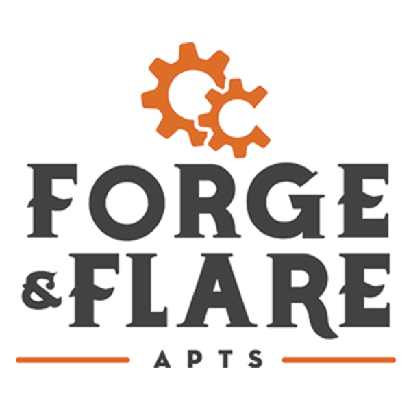 Forge & Flare Apartments Logo